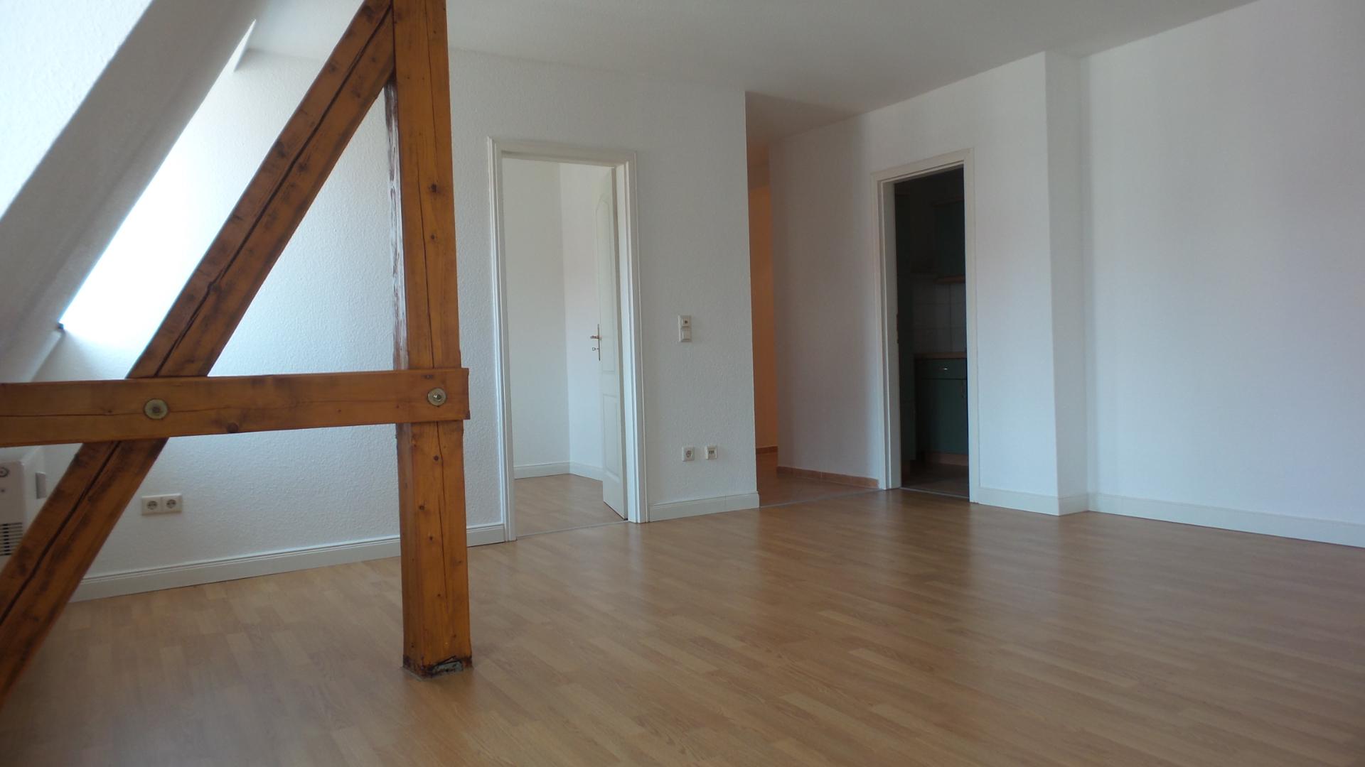 Mietwohnung: Vermietung von 1,5-Raum Dachgeschosswohnung in Görlitz, Lutherstraße 21
