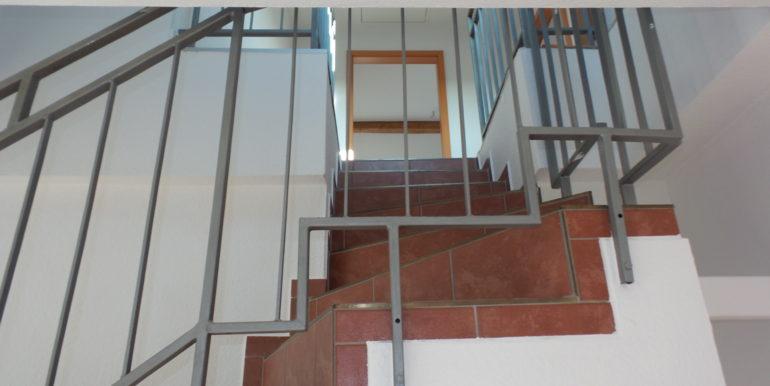 Treppe zur 2. Ebene