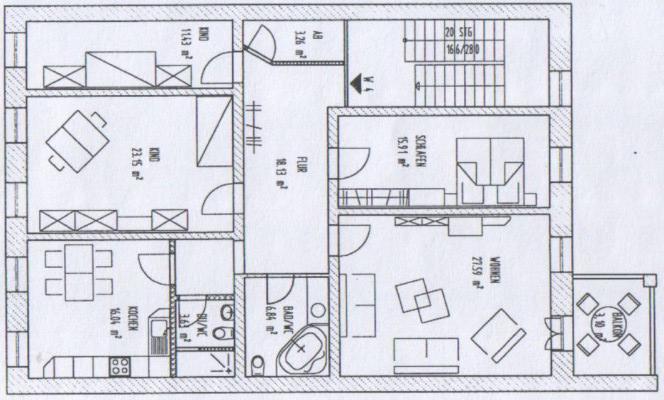 Raum Wohnung Sangerhausen
